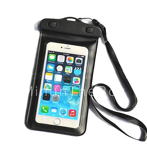bolsa de nataci n 20m tel fono del bolso del tel fono impermeable con cord n para el iphone 6. Black Bedroom Furniture Sets. Home Design Ideas