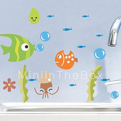 Autocollants toilettes baignoire de douche armoires - Autocollant pour baignoire ...
