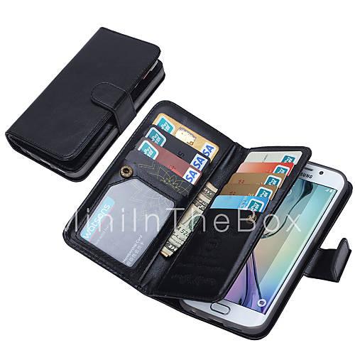 DE JI Wallet PU Leather Case For Samsung Galaxy S6 edge/S6 ... - photo#28