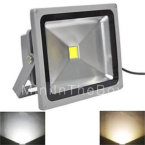 Waterproof 10W 1000LM 2800-7000K White Light LED Flood