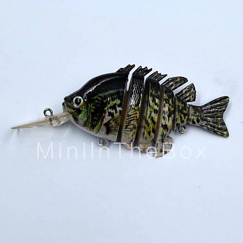 Hot 3 9 inch 14 gram top water fishing baits crappie swim for Crappie fishing bait