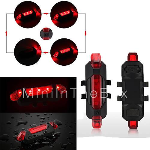 Luci bici / Lanterne e lampade da tenda / Luce posteriore per bici / luci di sicurezza LED ...
