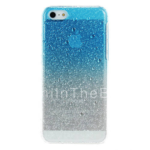 3D Water Drops Pattern Protective Hard Case For IPhone 5C