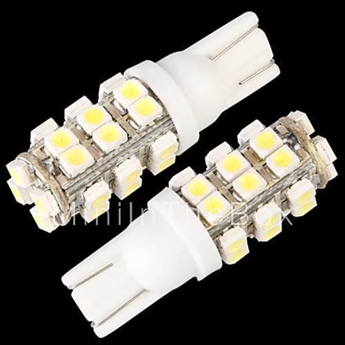 10  T10 W5W 168 194 puolella kiila polttimo valaisin valkoinen 28 SMD LED va
