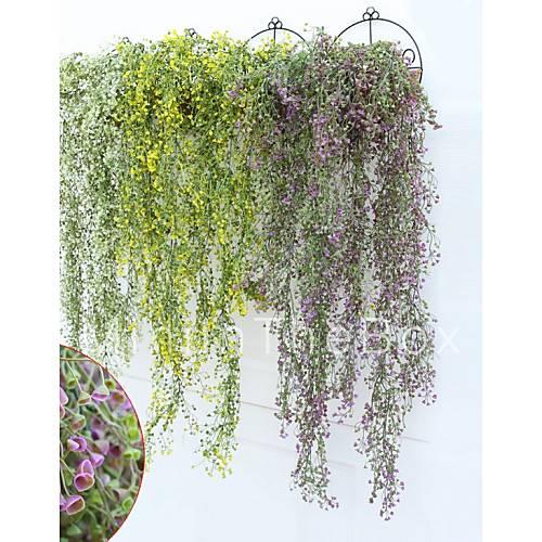 Une succursale plastique plantes guirlande et fleur murale for Plante artificielle solde