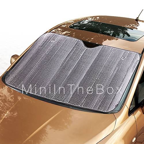 ziqiao window foils windshield sun shade car windshield visor cover block front window sunshade. Black Bedroom Furniture Sets. Home Design Ideas