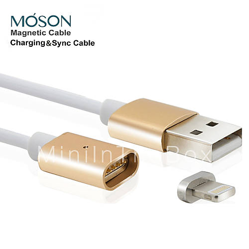 2 4a mfi new metal magnetic 8pin usb charging charger cable for apple iphone 7 6s 6 plus se 5s. Black Bedroom Furniture Sets. Home Design Ideas