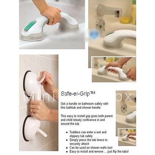Super grip aspiration de la baignoire de s curit tasse for Poignee de securite salle de bain