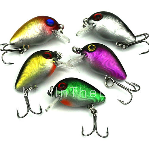 3cm mini micro fishing lures floating minnow for Micro fishing lures