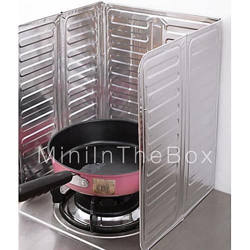 Aceite de cocina de gas protector salpicaduras estufa de eliminaci n de aceite de cocina de la - Protector antisalpicaduras cocina ...