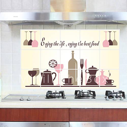Moda adesivi murali adesivi aereo da parete adesivi - Adesivi da parete per cucina ...