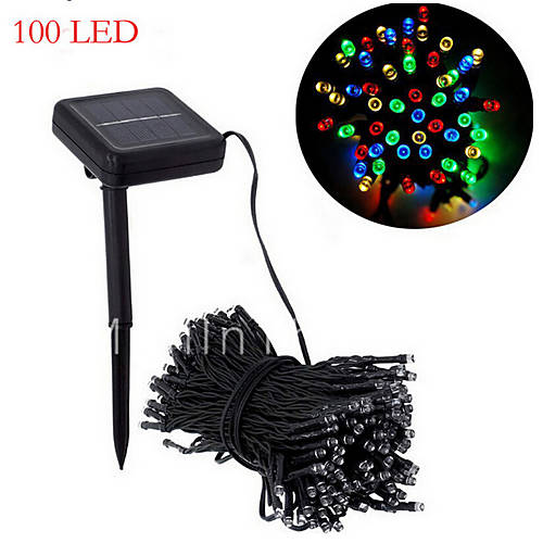 Solar Lights Christmas Tree Shop: Solar Christmas Lights White Lights29ft 100 LED Waterproof