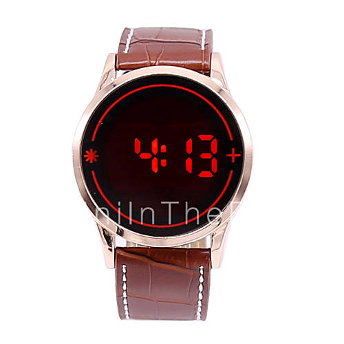 relogio masculino s led touch screen digital date