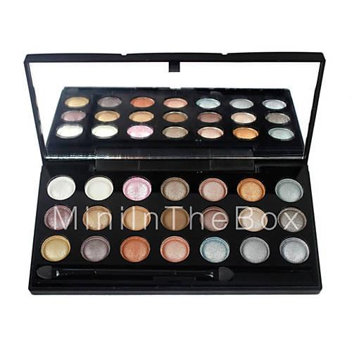 21 palette de fard paupi res lueur fard paupi res palette cr me set maquillage quotidien de. Black Bedroom Furniture Sets. Home Design Ideas