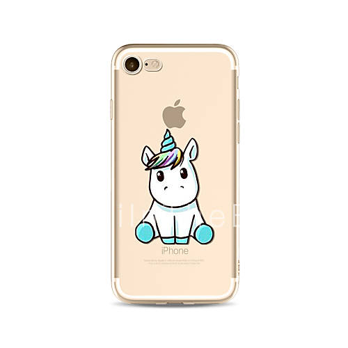 lovely unicorn tpu soft case cover for apple iphone 7 7. Black Bedroom Furniture Sets. Home Design Ideas