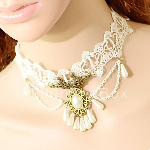 Ожерелья из кружев